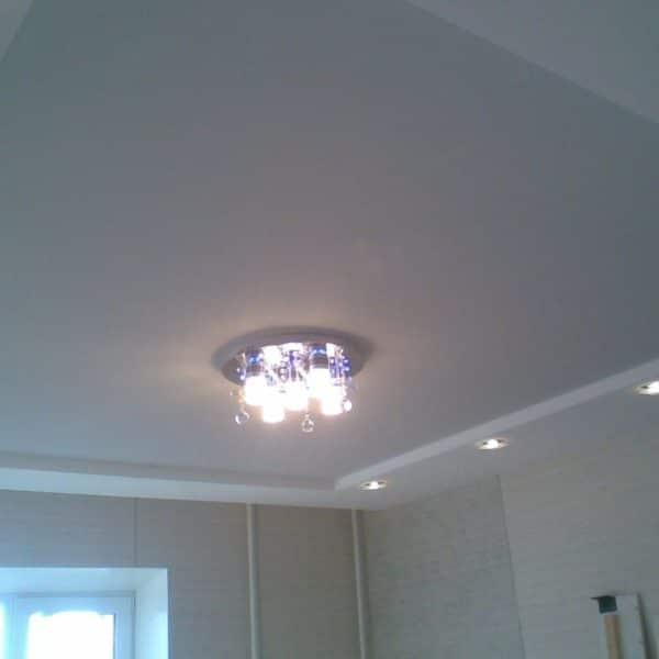Матовый натяжной потолок на заказ в h-Comfort