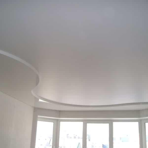 Сатиновые потолки фото