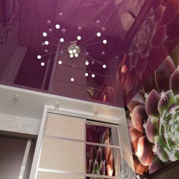 Глянцевые натяжные потолки в Минске купить