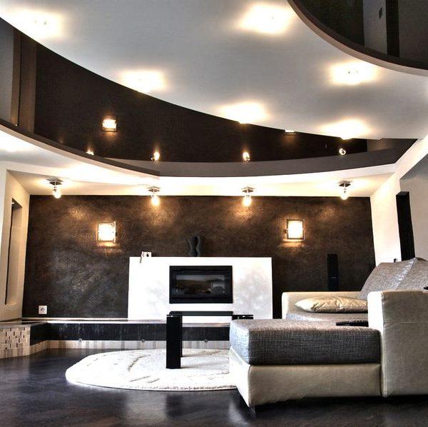 Заказать многоуровневый натяжной потолок