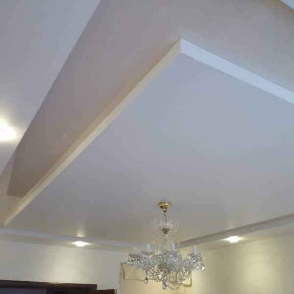 Двухуровневые натяжные потолки